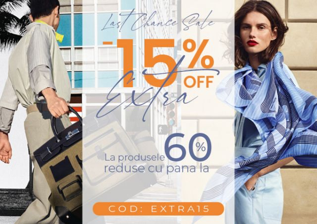 SALE - UP TO 60% OFF + EXTRA15